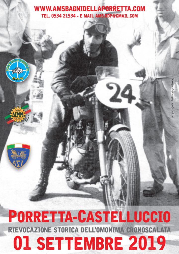 locandina evento Porretta Castelluccio 23° edizione, 60°anniversario