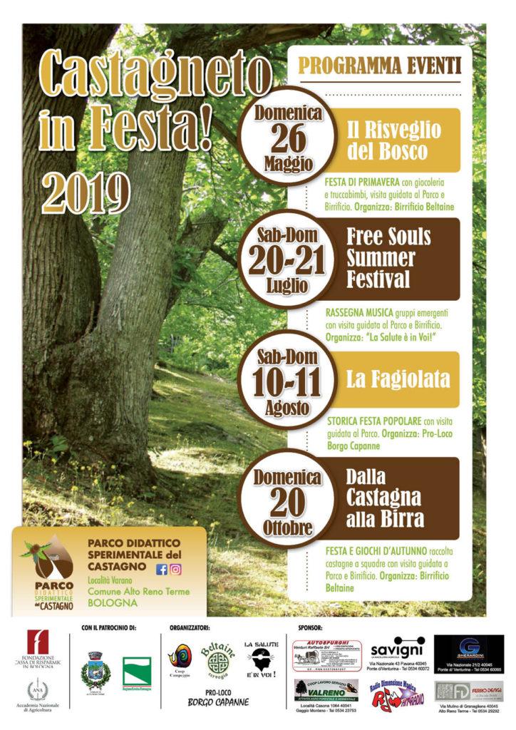 locandina evento Castagneto in Festa 2019